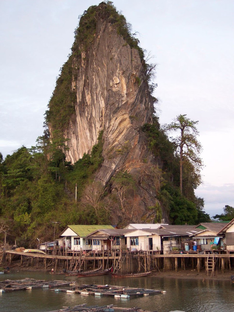 koh panyi island, thailand, 2004