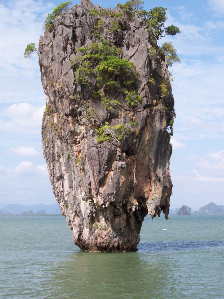 james bond island, thailand, 2004