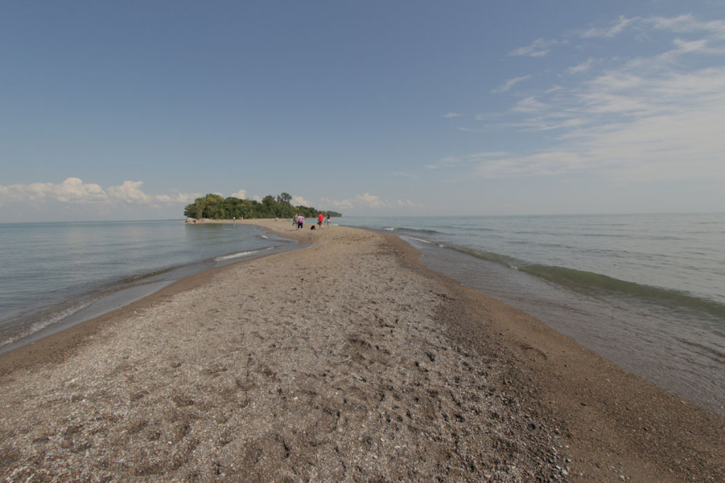 point pelee national park, the most southern point in mainland canada